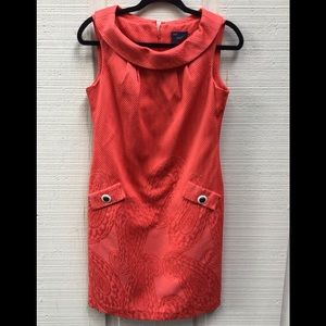 Just Taylor coral dress